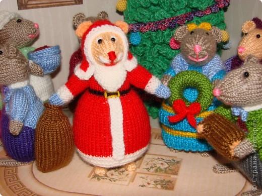 У моих мышек уже Новый год!!! фото 3