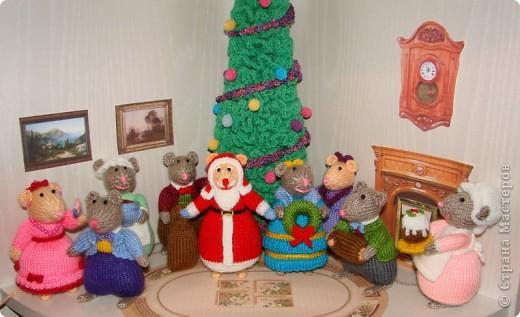 У моих мышек уже Новый год!!! фото 4