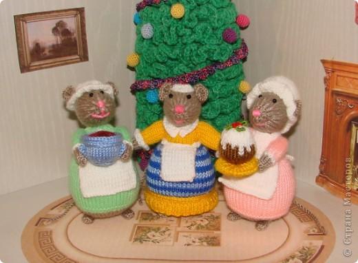 У моих мышек уже Новый год!!! фото 7