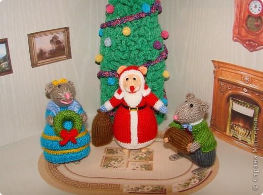 У моих мышек уже Новый год!!! фото 8