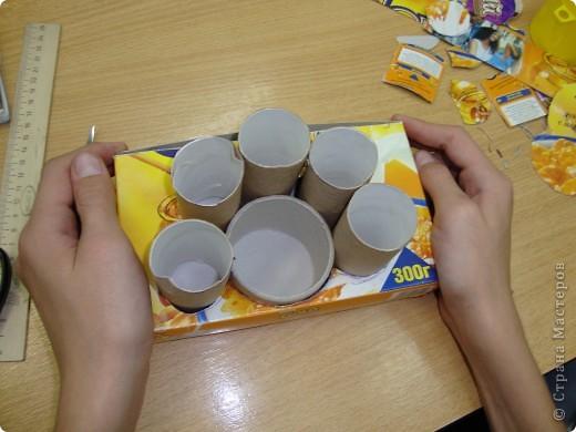 Карандашницы из бросового материала. фото 3