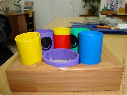 Карандашницы из бросового материала. фото 8