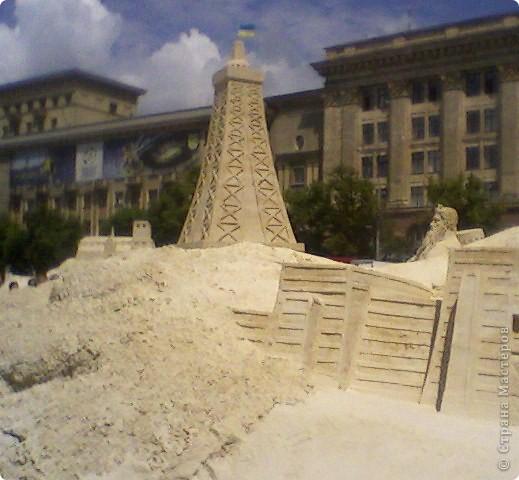 Песочный городок в Харькове. фото 2