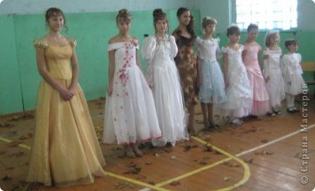 """У нас проходил праздник """"Королева осени"""". Это все наши королевы с 1 по 9 класс...  фото 1"""