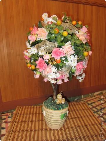 Это мой первый дерево-шар фото 1