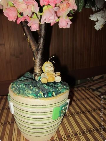 Это мой первый дерево-шар фото 2
