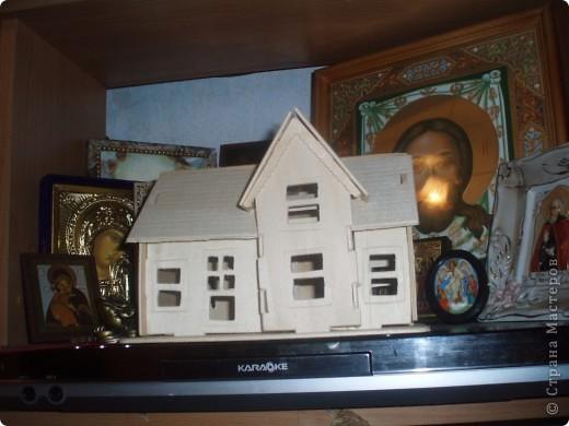 вот такой домик построил наш папа фото 1