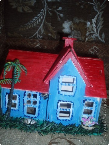 вот такой домик построил наш папа фото 4