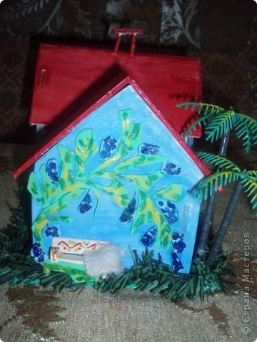 вот такой домик построил наш папа фото 5