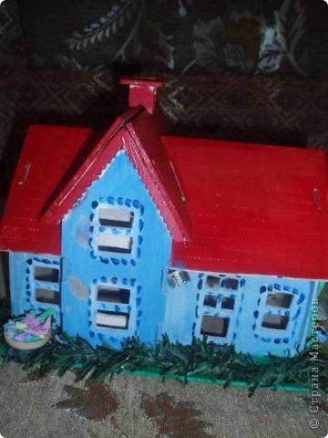 вот такой домик построил наш папа фото 6