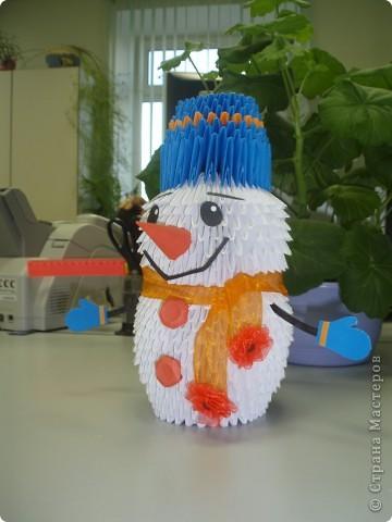 Снеговичок по МК Татьяны Просняковой фото 1