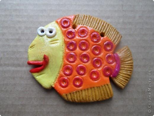 Рыбка из теста, вторая