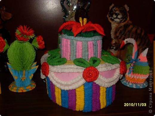 Наш тортик (первый)