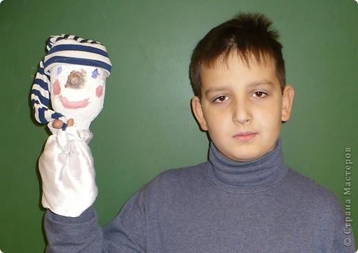 Кота Базилио сделала Катя С., ученица 4-Б класса ГОУ Гимназия №196 Санкт-Петербурга. фото 8