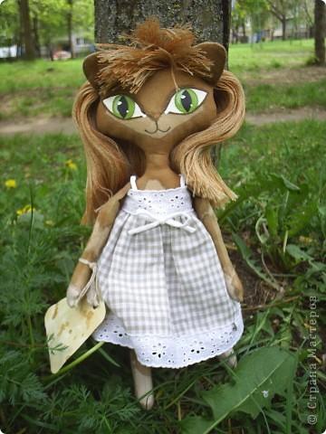 Кукла-кошечка. мой вариант фото 1