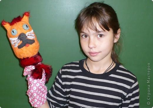 Кота Базилио сделала Катя С., ученица 4-Б класса ГОУ Гимназия №196 Санкт-Петербурга. фото 1