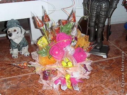 Букеты  из  конфет фото 5