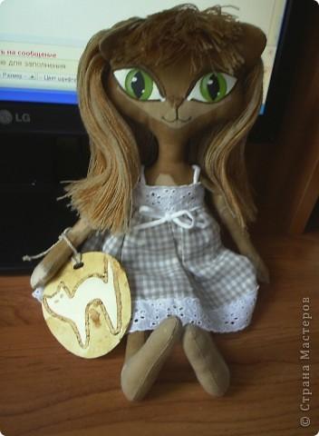 Кукла-кошечка. мой вариант фото 7