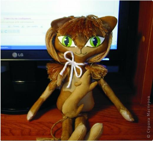 Кукла-кошечка. мой вариант фото 6