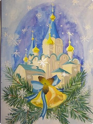 Открытки рождество христово своими руками рисунок