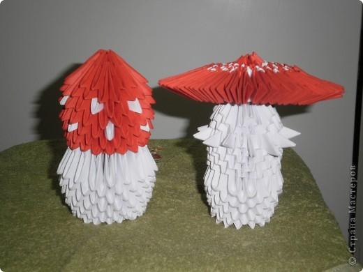 Вот такие мухоморчики получились у меня благодаря книге Т.Просняковой.