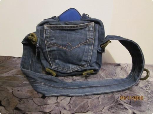 были никому не нужные джинсы и хотелось что-то с ними сотворить. и вот что получилось фото 3