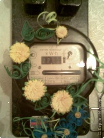 Декор счетчика для электричества фото 2