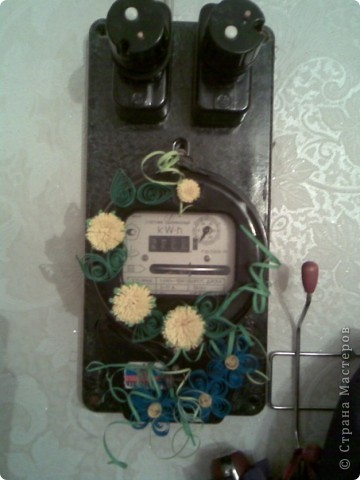 Декор счетчика для электричества фото 1