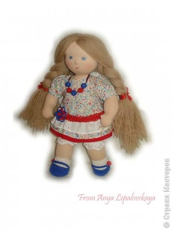 Вальдорфская куколка, 35 см. фото 2