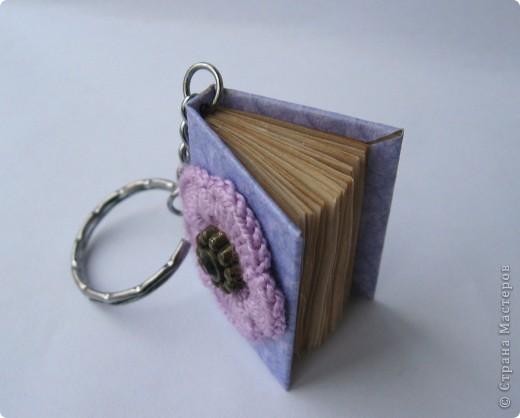 Мой крошка - блокнот, в котором я буду записывать телефонные номера близких людей и который буду носить в качестве брелока на ключах. фото 4