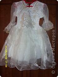 Нарядное  платье  для  моей  дочки. фото 1