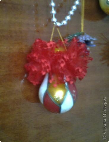 Почему-бы не украсить елочку вот такими симпатичными шариками.  фото 3