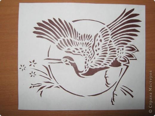 Японский журавлик