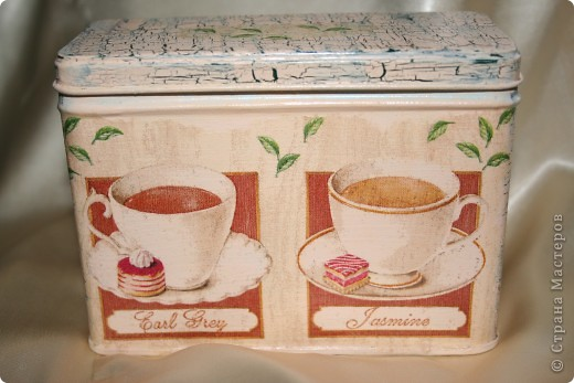 Баночка для чая фото 1
