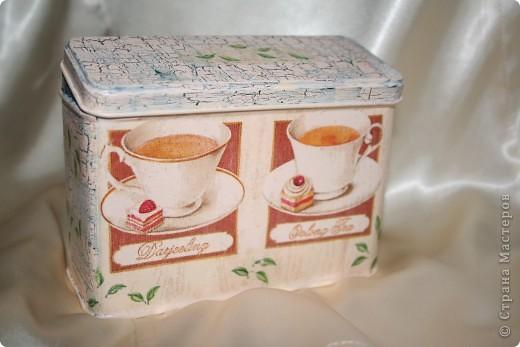Баночка для чая фото 2