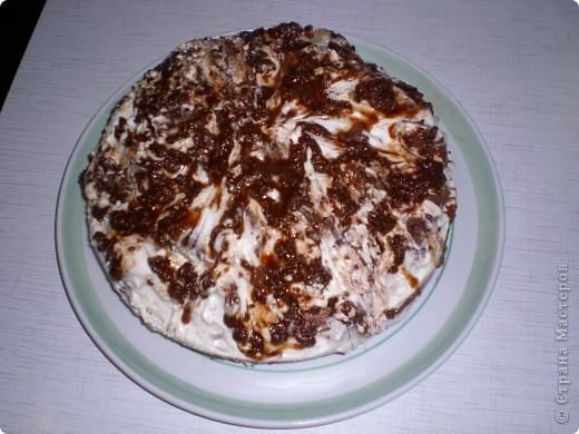 Попробовала испечь мой любимый тортик.За рецепт спасибо ValyaShka https://stranamasterov.ru/node/99322