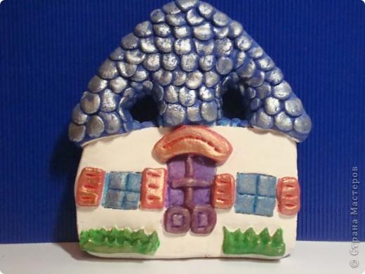 Приготовили мы домики для гномиков, но гномики что-то не спешат в них заселяться... ((( То вдохновенья нет, то еще что-нибудь, вот и ждут теперь домики до лучших времен... фото 1