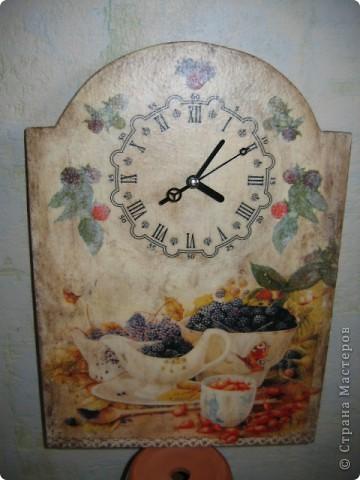"""часы-панно """"Ароматное время"""""""