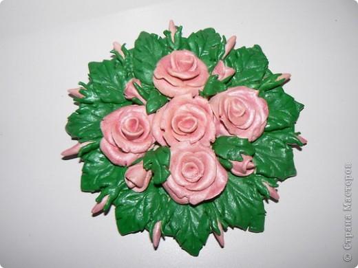 Розовые розы (повторялочка)
