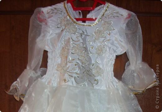 Нарядное  платье  для  моей  дочки. фото 2