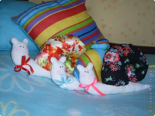 Тильдо-улиточки, собачки и мышки))) фото 3