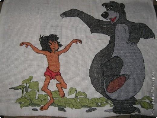 Маугли и его верный друг Балу фото 1
