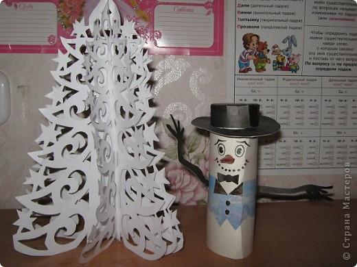 Ёлочка и Снеговик фото 1