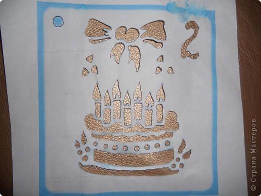 Моей доченьке Алиночке 6 ноября было 2 годика. Вот такой тортик мы с сыном сделали ей на День рождения.  фото 2