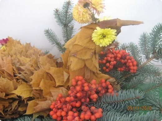 "Композиция ""Птица-осень"" фото 3"