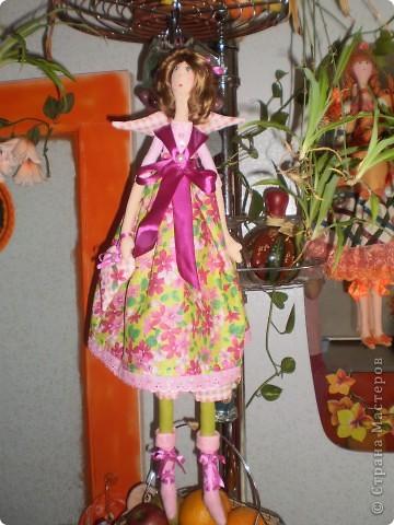 Цветочный ангел. Рост 65 см. фото 3