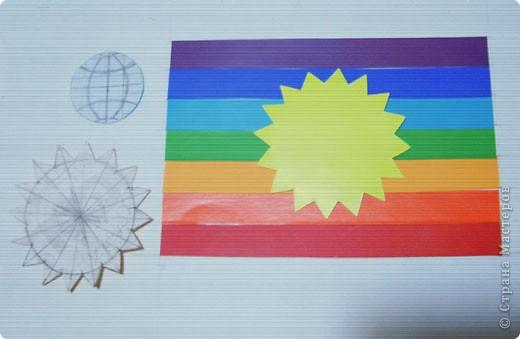 """Один из рабочих """"прикидов"""" :))) на тему """"Флаг Страны Мастеров"""". фото 2"""