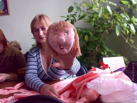 моя первая текстильная кукла, надеюсь не последняя фото 7