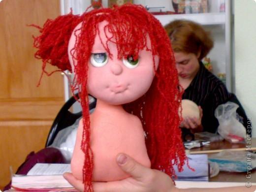 моя первая текстильная кукла, надеюсь не последняя фото 5