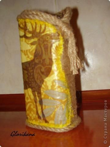 Вот такая ваза у меня получилась, правда не покрыта ещё лаком фото 5